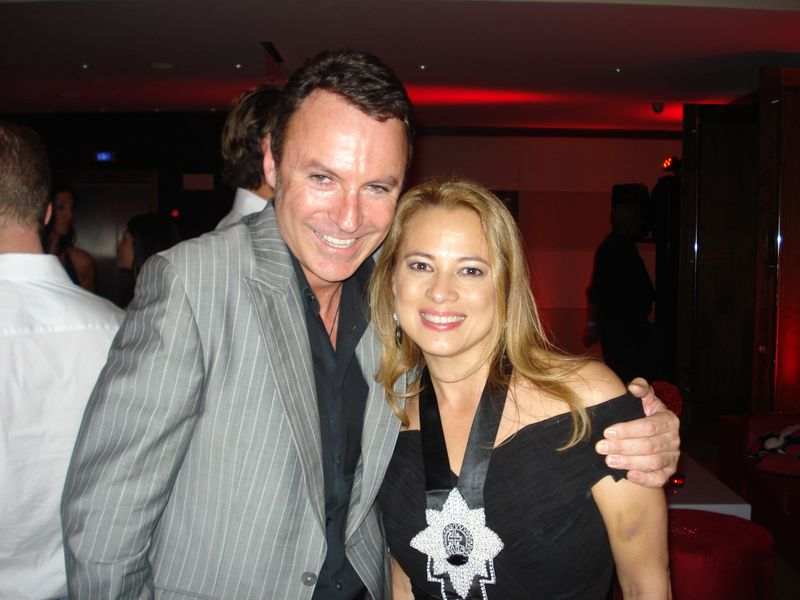 With colin cowie